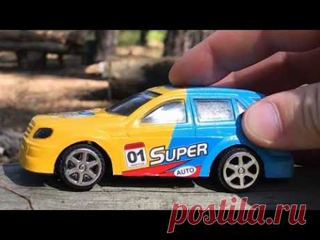 Kids video about Race Car run in forest for children - YouTube