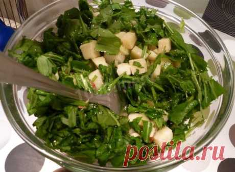 Салат с грушей и сыром рецепт с фото пошагово - 1000.menu