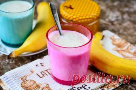 Смузи с бананом и кефиром - пошаговый рецепт с фото на Повар.ру