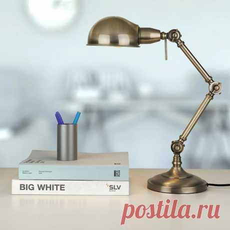 Для рабочего места всегда важно качественное освещение. А подобрать хорошую лампу поможет наш маркетплейс! 💡 Товары в наличии: