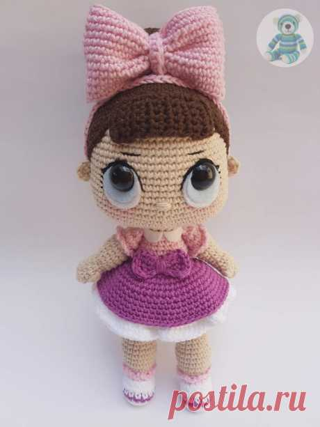 Очаровашка куколка ЛОЛ  Проект: Toy Art Amigurumi. Перевод: Лана.