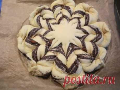 Оригинальный пирог с маком