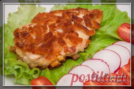 Куриный шницель по-министерски | Домашние рецепты