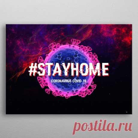 Coronavirus 2020 Covid19 Pop Art Poster Print | metal posters - Displate