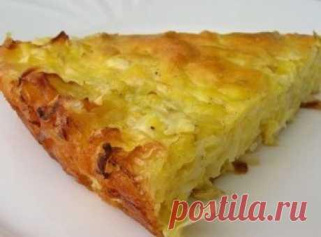 Капустный пирог для ленивых | Самые вкусные рецепты
