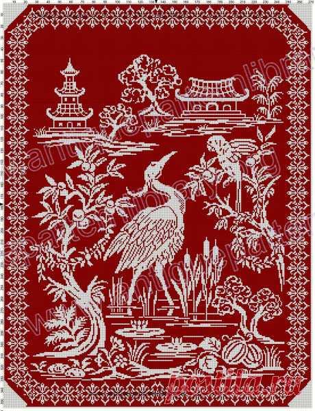 10 сногсшибательных схем для филейного и мозаичного вязания