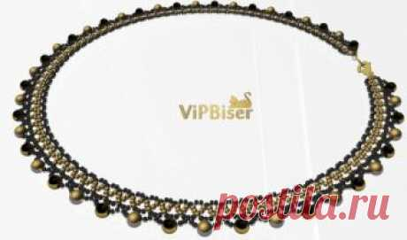 Beaded Necklace Cleo. 3D Tutorial