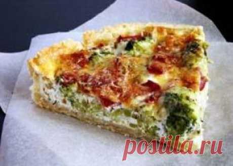 El pastel con el brécol y el queso: ТОП-4 de la receta