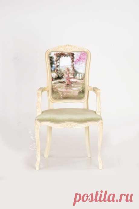 Небольшое кресло с высокой спинкой Дебора-2: мягкое кресло, мягкое сиденье, мягкая спинка.