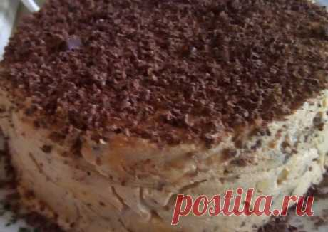 """Тортик без выпечки """"Лентяйкина радость"""" - пошаговый рецепт с фото. Автор рецепта Елена Жук . - Cookpad"""