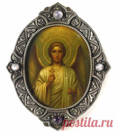 Старинные русские иконы серебро и эмаль,17-19 вв.