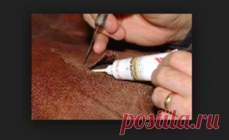 Ремонт кожаной мебели своими руками, восстановление обивки
