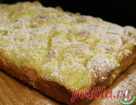 """Пирог """" Улучшенная шарлотка"""" – кулинарный рецепт"""