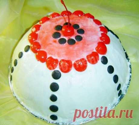 Торт Панчо с вишней рецепт с фото пошагово - 1000.menu