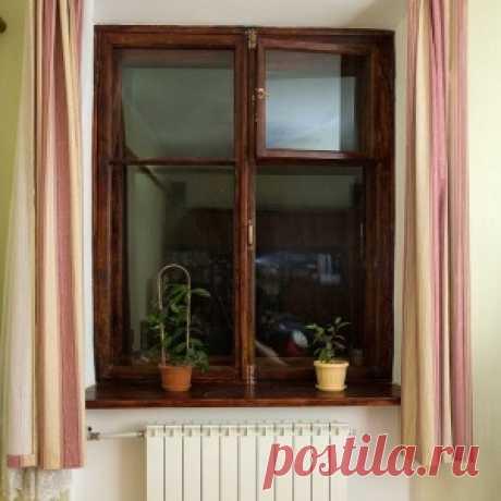La vida nueva de las ventanas viejas - la restauración de los marcos de madera
