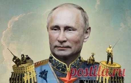 Путіна таки зробили царем | znaj.ua