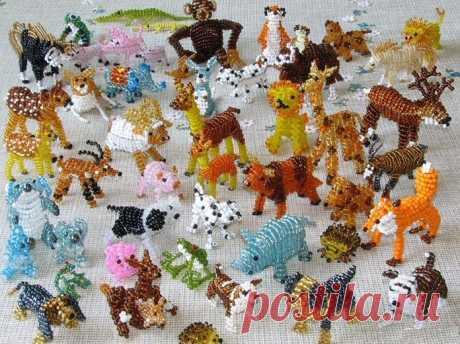 Как сделать из бисера животных: примеры схем плетения зверей и пошаговые инструкции плоских и объемных фигурок для начинающих