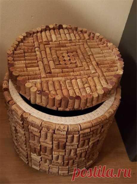 7 идей декора из винных пробок | Джутовые истории | Яндекс Дзен