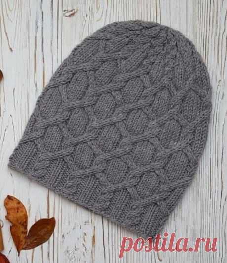 Узор для теплой шапочки