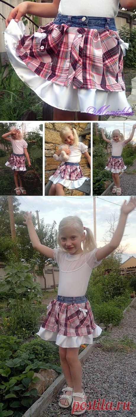 Из рубашек - детям / Для детей / Модный сайт о стильной переделке одежды и интерьера