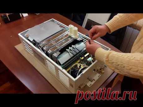 Универсальное питание газовой колонки от батареек или сети 220В. Versatility of power GW heater.