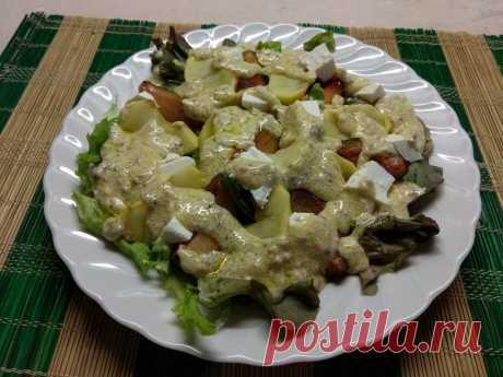 Салат с черносливом - новенькое и оригинальное блюдо