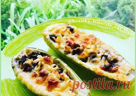 (37) Кабачки с сыром и грибами - пошаговый рецепт с фото. Автор рецепта Виктория на пп🌳 . - Cookpad