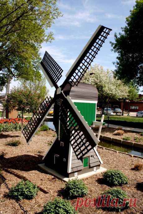 Декоративные ветряки для дачи — Огород без хлопот