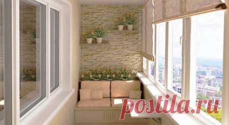 12 классных идей для вашего балкона