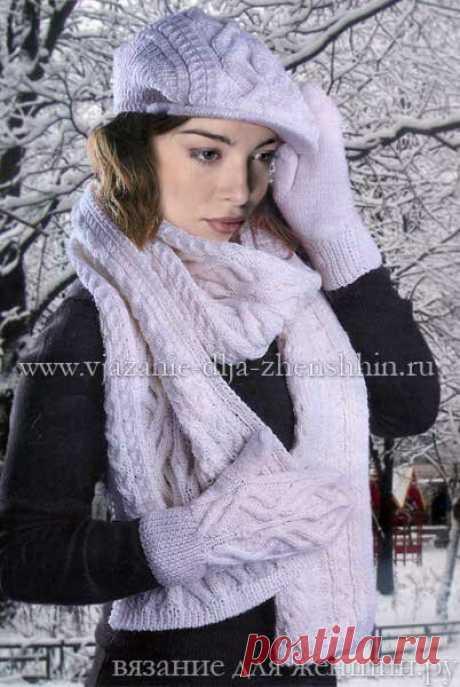 Три красивых шарфа с подробным описанием!   Вяжем, лепим, творим, малюем)   Яндекс Дзен