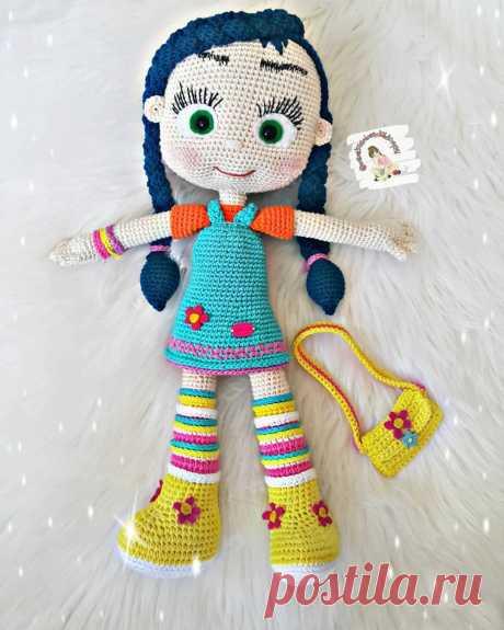 PDF мастер-класс по вязанию куклы Висспер крючком #схемыамигуруми #амигуруми #вязаныеигрушки #вязанаякукла #amigurumipattern #crochetdoll #amigurumidoll