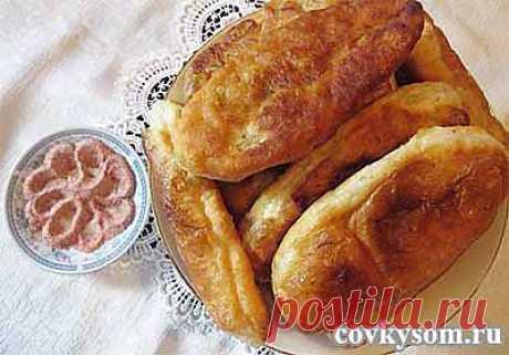 Домашние пирожки с картошкой   Со вкусом