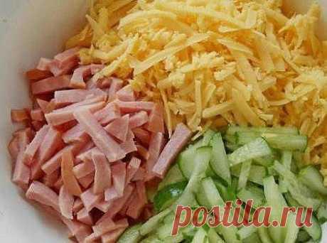 """La ensalada """"Нежный"""" - no sólo muy sabroso, sino también no por el camino."""