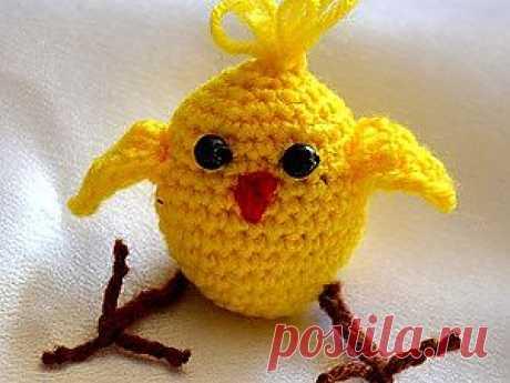 Цыпленок Кроха - Ярмарка Мастеров - ручная работа, handmade