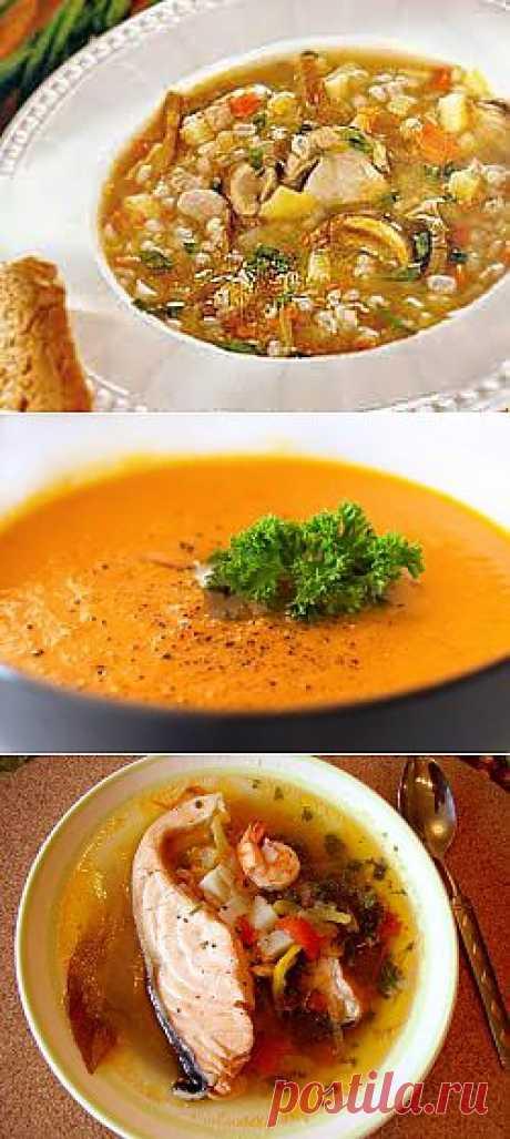 Морковный суп-пюре | Время обедать