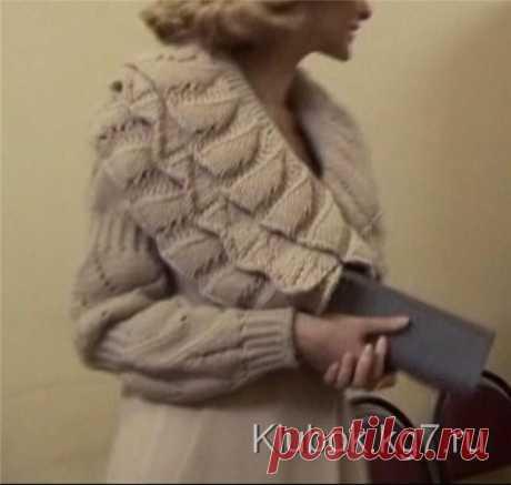 Этот воротник станет украшением Вашего пальто! | Клубок