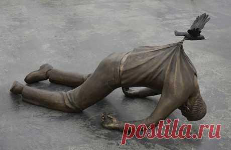 20 оригинальных скульптур со всего мира, которые бросают вызов законам физики