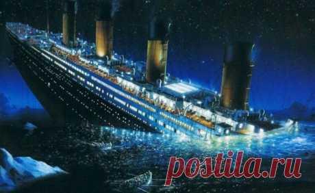 Теории гибели «Титаника»