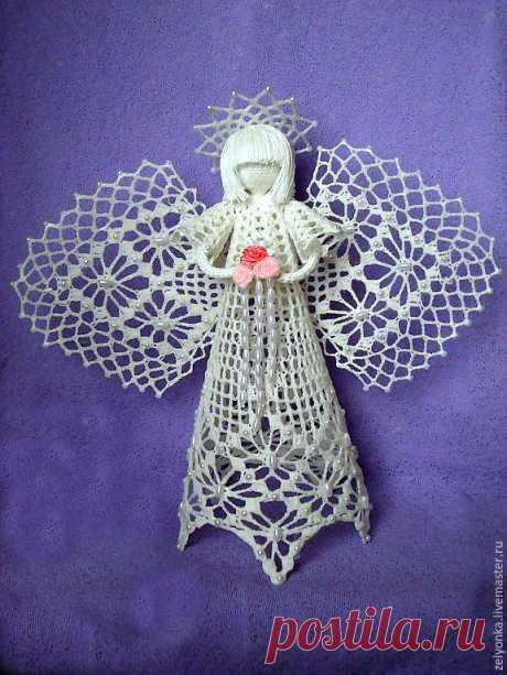 Филейный ангелочек – купить в интернет-магазине на Ярмарке Мастеров с доставкой - A853JRU | Брянск