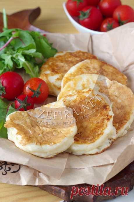 Супер вкусные оладьи с сыром — Кулинарные рецепты любящей жены