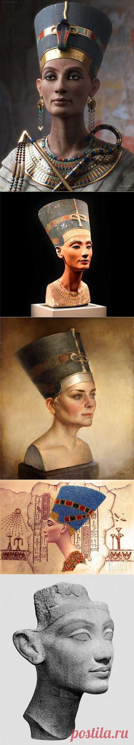 (+1) тема - Нефертити | Искусство