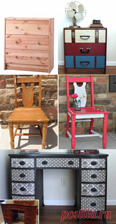 Как обновить мебель: 25 фото с инструкциями