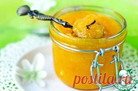 Безотходный мандариновый джем - кулинарный рецепт