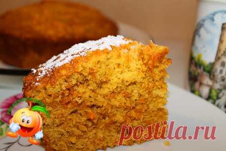 Диетический морковный кекс (диетический морковный торт)   Полезная диета Давно обещала сделать фоторецепт диетического морковного кекса или торта (если кекс прослоить кремом, то получится настоящий торт. И наконец-то собралась. Кекс получается очень нежным, просто тает во рту. Жиров в нем практически нет, много морковки, так что он очень даже диетический. Морковки не слышно! Вкуснятина - пальчики оближешь. Итак, на poleznaya-dieta.ru рецепт. Нам понадобятся такие...