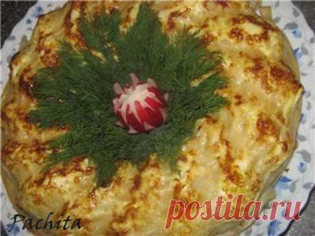 """Макаронная запеканка """"Тарантелла"""" - кулинарный рецепт"""
