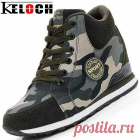 Камуфляжные кроссовки на танкетке, камуфляжные сникерсы | shopperali.ru Обзоры товаров и отзывы. Хороший Алиэкспресс.