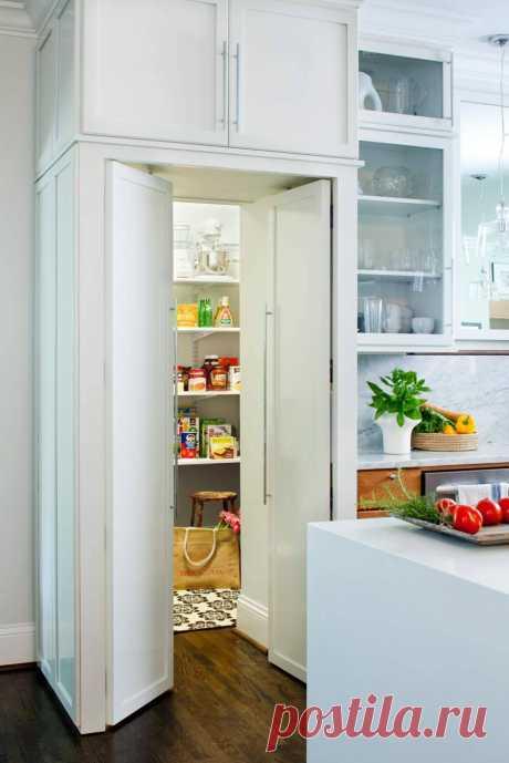 Кладовка в квартире: 95 дизайн-фото маленькой кладовки в квартире и в доме, идеи для кладовки на кухне | Houzz Россия