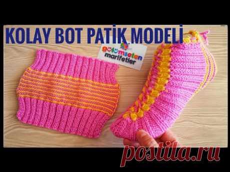 Вязание носков Вязание Основы: простые два шампура женщины вязание крючком вязать носки стили