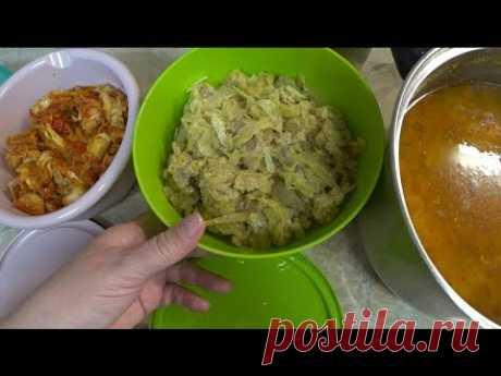 #Еда_диабетика_тип2. Наготовила на 3 дня, рассольник, капуста, рыба.