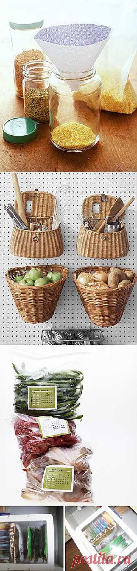 Хранение продуктов на кухне :: FRESH - Свежий взгляд на стиль - онлайн журнал